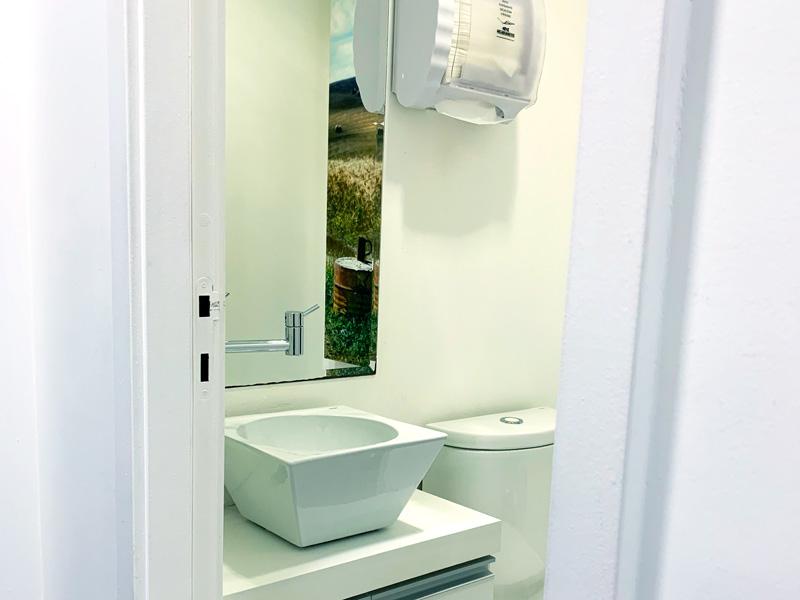Banheiro | Instituto Kemp