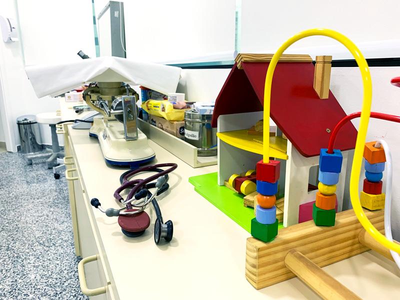 Consultótio de pediatria | Instituto Kemp