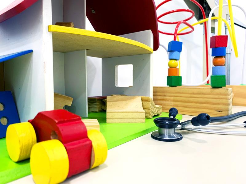 Cosultório de pediatria | Instituto Kemp